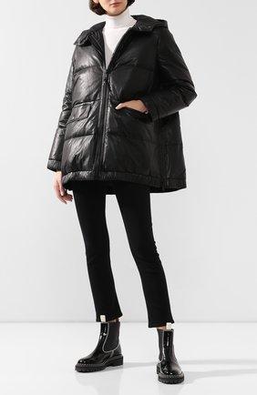 Женский пуховая куртка YS ARMY PARIS черного цвета, арт. 20WFV02676D0CU | Фото 2