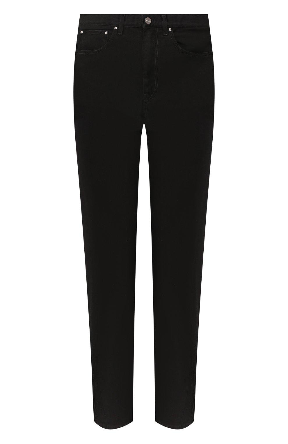 Женские джинсы TOTÊME черного цвета, арт. 0RIGINAL DENIM 32 193-232-744   Фото 1