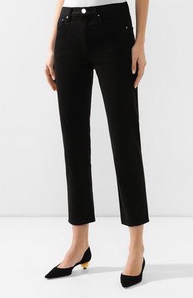 Женские джинсы TOTÊME черного цвета, арт. 0RIGINAL DENIM 32 193-232-744   Фото 3