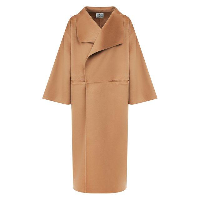 Пальто из смеси шерсти и кашемира Totême