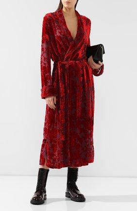 Платье из смеси вискозы и шелка | Фото №2