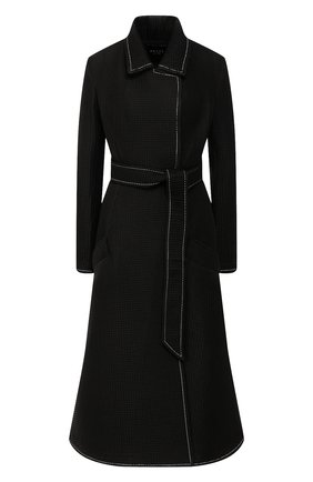 Женское пальто с поясом A.W.A.K.E. MODE черного цвета, арт. PF19.C01 | Фото 1