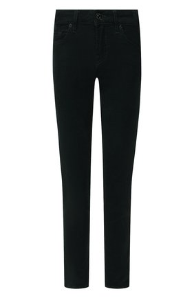 Женские брюки 7 FOR ALL MANKIND зеленого цвета, арт. JSL4V640GR | Фото 1