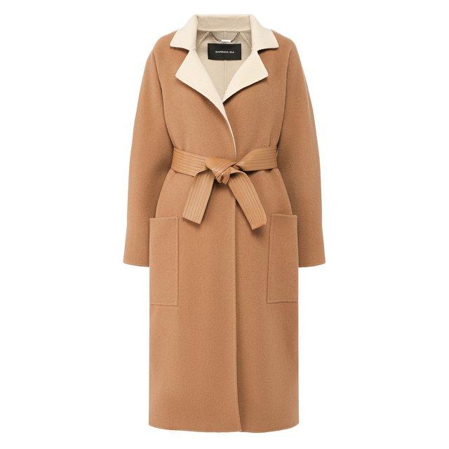 Пальто из смеси шерсти и кашемира Barbara Bui