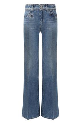 Женские расклешенные джинсы GIVENCHY синего цвета, арт. BW50EK50CB | Фото 1