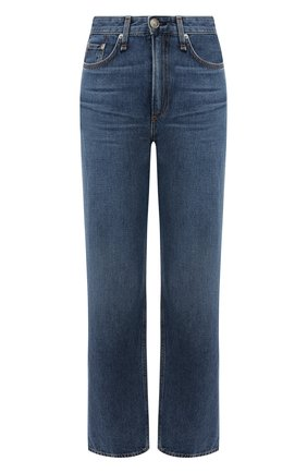 Женские джинсы RAG&BONE синего цвета, арт. WDD19F2665K3BW   Фото 1