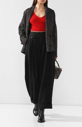 Женская кашемировый пуловер UMA WANG бордового цвета, арт. A9 W UK7134 | Фото 2