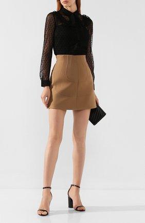 Женская блузка REDVALENTINO черного цвета, арт. SR0AB00Q/4KN | Фото 2