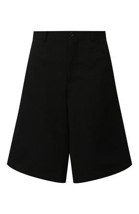 Женские шерстяные шорты COMME DES GARCONS черного цвета, арт. GD-P022-051 | Фото 1