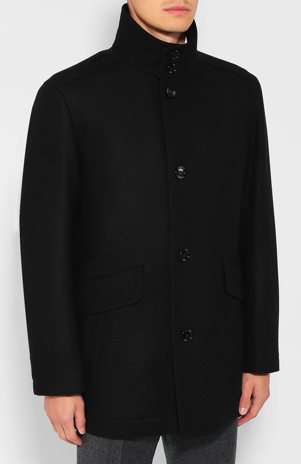 Шерстяное пальто | Фото №3