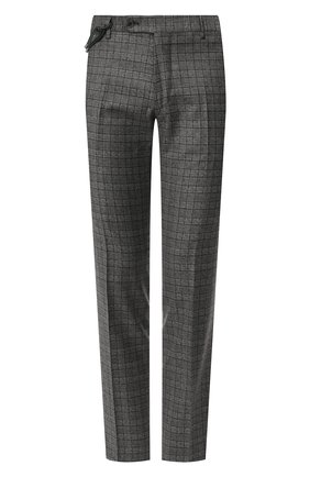 Мужской шерстяные брюки BERWICH серого цвета, арт. SC/1/CE1721 | Фото 1