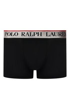 Мужские хлопковые боксеры POLO RALPH LAUREN черного цвета, арт. 714753035/017 | Фото 1
