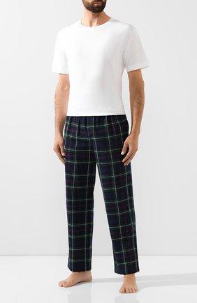 Хлопковые домашние брюки | Фото №2