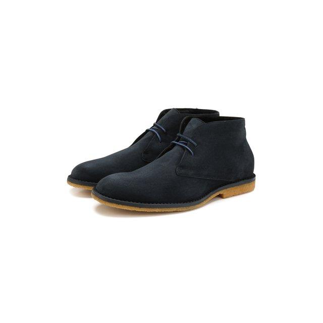 Замшевые ботинки Brioni