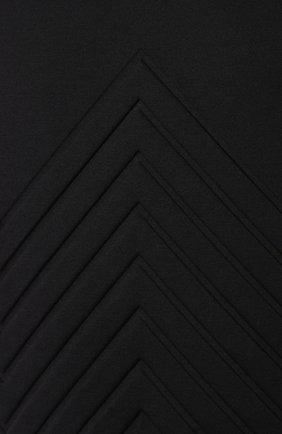 Мужская хлопковая футболка BOTTEGA VENETA черного цвета, арт. 595619/VKAB0 | Фото 5