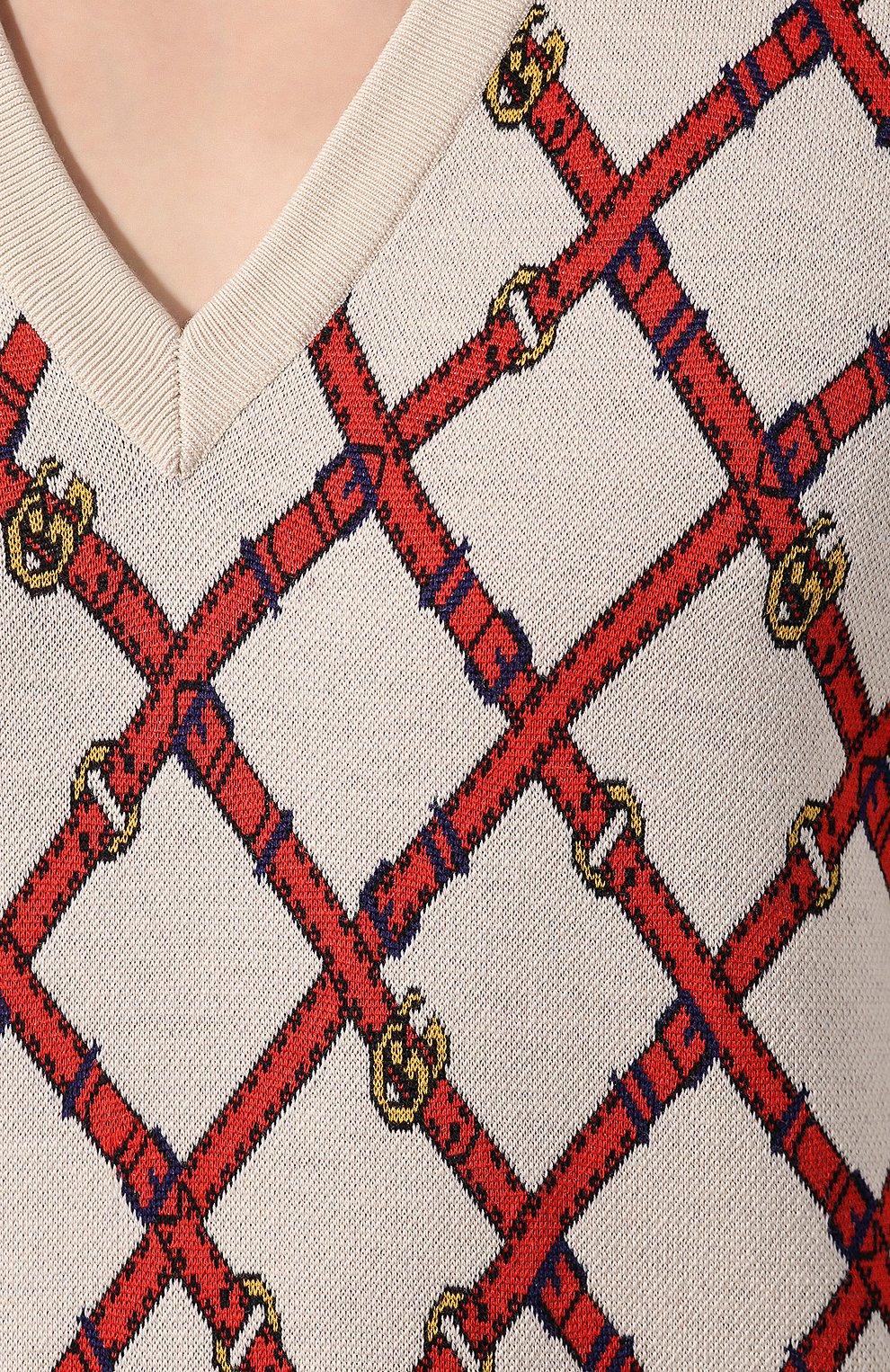 Шерстяной пуловер | Фото №5