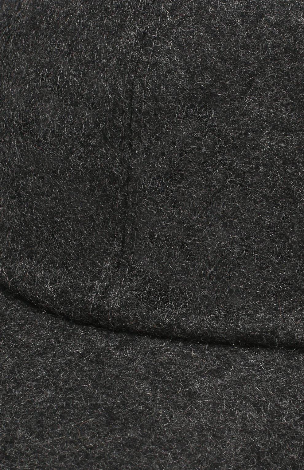 Мужской кашемировая бейсболка FEDELI темно-серого цвета, арт. 2UI00801 | Фото 3