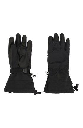 Детские перчатки MOLO черного цвета, арт. 7W19S206 | Фото 2