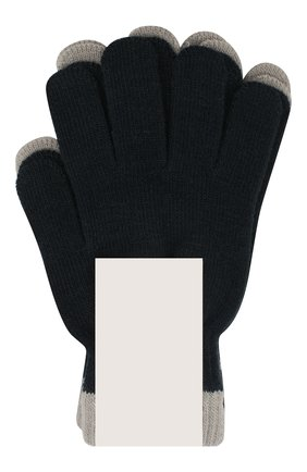 Детские перчатки MOLO серого цвета, арт. 7W19S205 | Фото 2