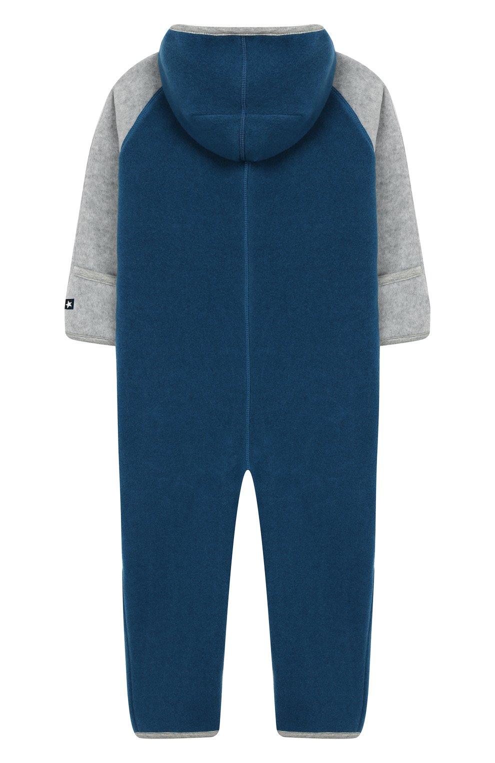 Детский комбинезон MOLO синего цвета, арт. 5W19L301 | Фото 2