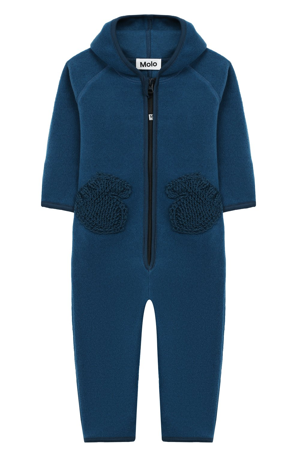 Детский комбинезон MOLO синего цвета, арт. 5W19L302 | Фото 1