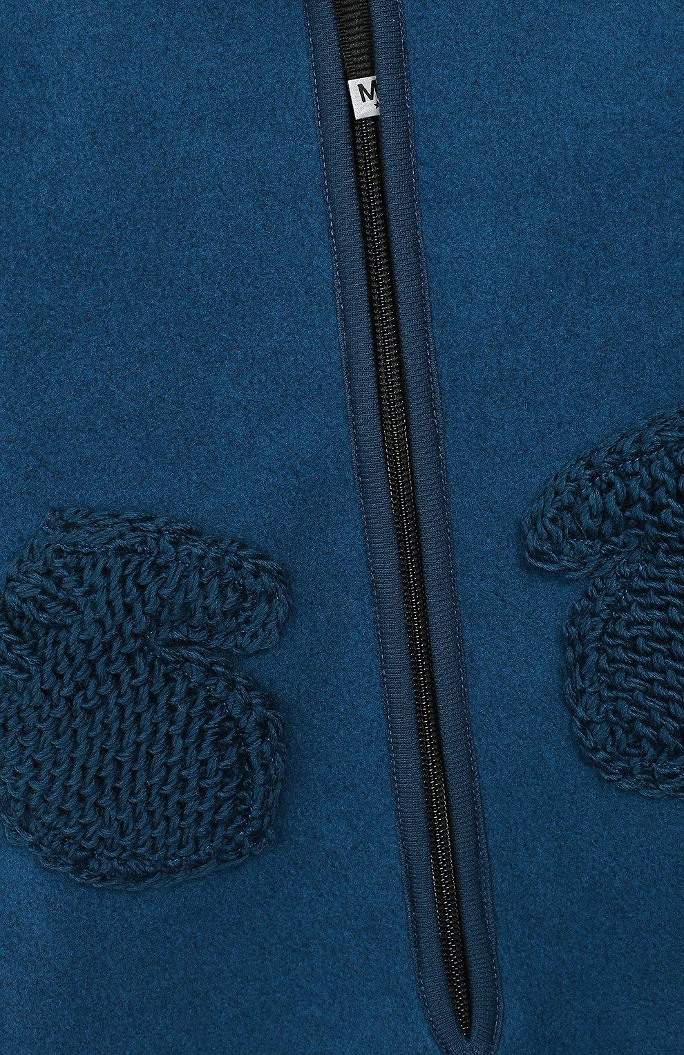Детский комбинезон MOLO синего цвета, арт. 5W19L302 | Фото 3
