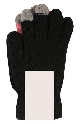 Детские перчатки MOLO розового цвета, арт. 7W19S202 | Фото 2