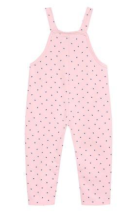 Детский хлопковый комбинезон SANETTA FIFTYSEVEN розового цвета, арт. 906687 | Фото 2