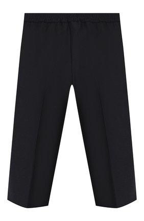 Детские шерстяные брюки GUCCI синего цвета, арт. 586239/XWAEV | Фото 2