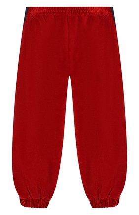Детские брюки GUCCI бордового цвета, арт. 579536/XJBFF | Фото 1
