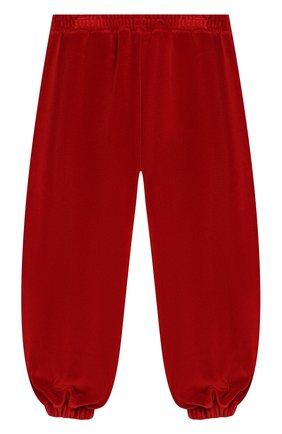 Детские брюки GUCCI бордового цвета, арт. 579536/XJBFF | Фото 2