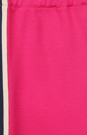 Детские брюки из вискозы GUCCI фуксия цвета, арт. 578064/XJBEC   Фото 3