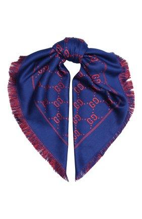 Детский шаль GUCCI синего цвета, арт. 574742/4K721 | Фото 1