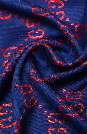 Детский шаль GUCCI синего цвета, арт. 574742/4K721 | Фото 2