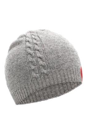 Детского шерстяная шапка GUCCI серого цвета, арт. 574731/4K206 | Фото 1