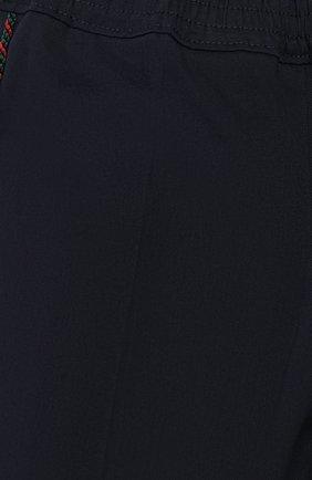Детские хлопковые брюки GUCCI синего цвета, арт. 564594/XWAEY | Фото 3