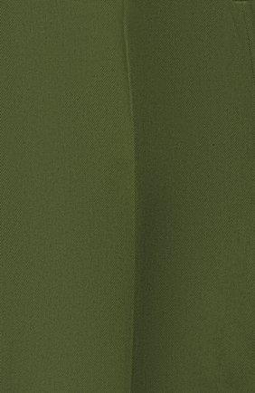 Детские хлопковые брюки GUCCI хаки цвета, арт. 564594/XWAEY | Фото 3