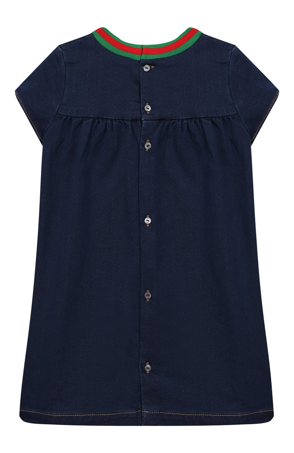 Женская платье GUCCI синего цвета, арт. 478120/XJA66   Фото 2