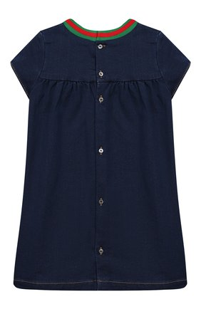 Женский платье GUCCI синего цвета, арт. 478120/XJA66 | Фото 2