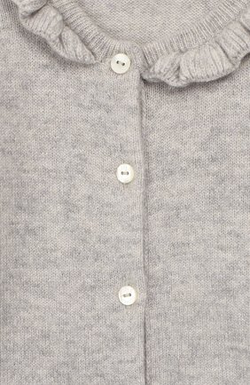 Детский кашемировый комбинезон BABY T серого цвета, арт. 19AIC871T/1M-12M | Фото 3