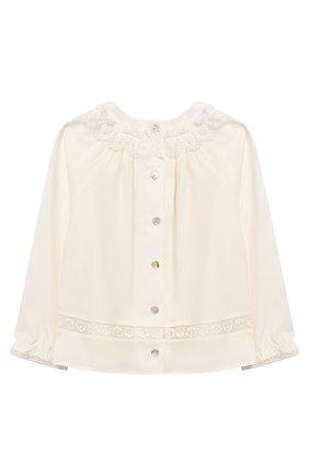 Блузка из смеси вискозы и шерсти | Фото №2