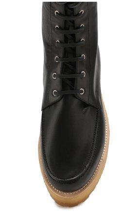 Женские кожаные ботинки GABRIELA HEARST черного цвета, арт. 1198010A SC001   Фото 5