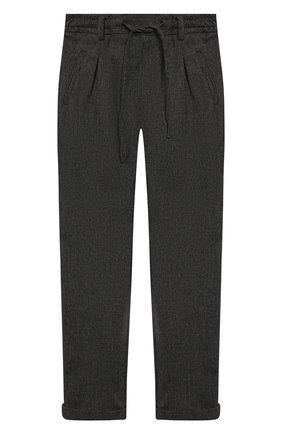 Детские брюки PAOLO PECORA MILANO серого цвета, арт. PP1983/14Y-16Y | Фото 1