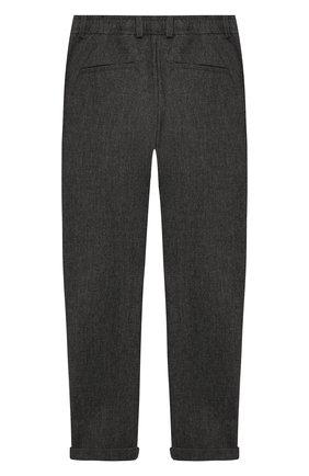 Детские брюки PAOLO PECORA MILANO серого цвета, арт. PP1983/14Y-16Y | Фото 2