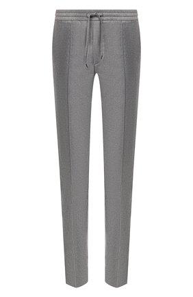 Мужской шерстяные брюки BRIONI серого цвета, арт. RPM10L/0ZA0K/SIDNEY | Фото 1