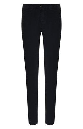 Мужской хлопковые брюки CANALI синего цвета, арт. 91551/PT00499 | Фото 1