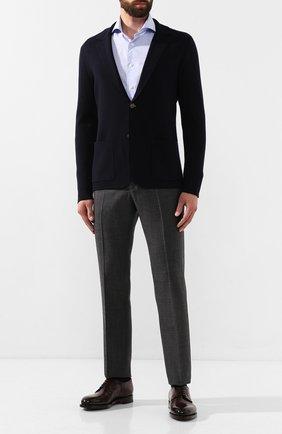 Мужской шерстяной пиджак ELEVENTY UOMO темно-синего цвета, арт. 979MA0452 MAG24012   Фото 2