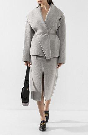 Женское кашемировое пальто GABRIELA HEARST светло-серого цвета, арт. 119508 C002 | Фото 2