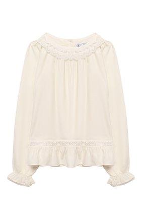 Блузка из смеси вискозы и шерсти | Фото №1
