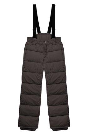 Детский пуховые брюки HERNO темно-серого цвета, арт. PI0061B/12004/4A-8A | Фото 1